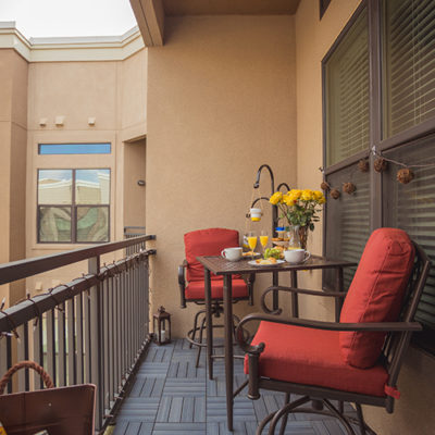 Home Depot Style Challenge Balcony Makeover