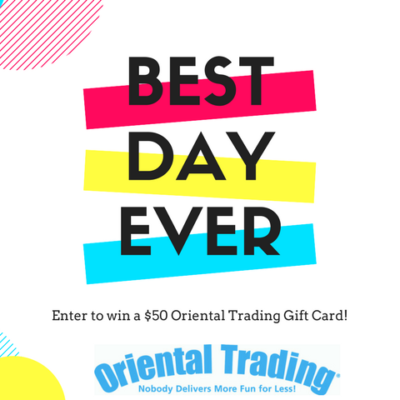 Oriental Trading Co. Giveaway
