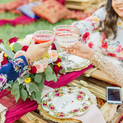 Boho Chic Friendsgiving Party